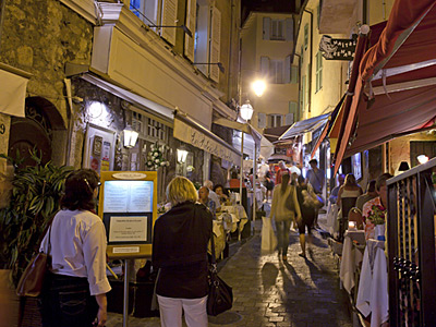 Dine Around Restaurants in the Old Cannes
