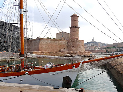 Sailing Boat Marseille